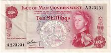 More details for 1961 | isle of man elizabeth ii ten shillings banknote | banknotes | km coins
