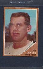 1962 Topps #033 Don Larsen Giants EX/MT *2393