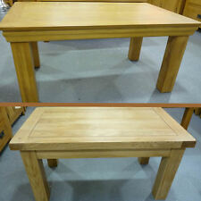 NEW Quality Farmhouse & Jackobean Oak Coffee Table's Solid Wood Lounge, Hallway