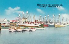 Postcard Cold Spring Fish and Supply Co Cape May Wildwood NJ
