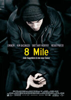 8 MILE - Orig.Kino-Plakat A1 - Eminem - Gerollt