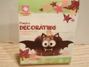 Creative Hands Bat Pumpkin Decorating.  NEW