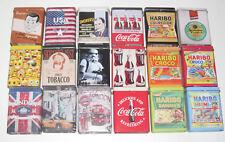 Boite en Métal pour Paquet Cigarettes ou Autre 90x70x30 MM Modèle au choix