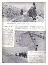 L'ILLUSTRATION 5062 09/03/1940 CHASSEURS POLONAIS ARMEE BRITANNIQUE ROUMANIE