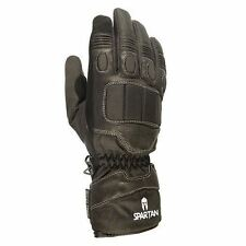 Oxford Leather & Textile All Motorcycle Gloves