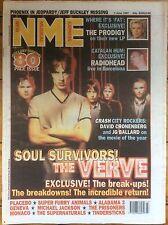 NME New Musical Express 7/6/97 The Verve, Alabama 3, Tindersticks, Peter Hook