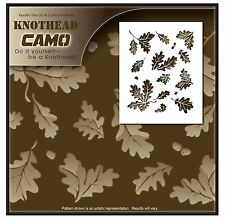 "1 Leaves Stencil Camouflage Camo. 10mil Mylar Commercial Size 24.5""X40"""