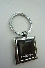 More details for new order, (band) heavy silver metal keyring technique