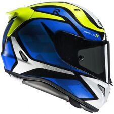 HJC RPHA 11 Deroka MC2 Gr. S blau Motorradhelm mit stark getöntem Visier