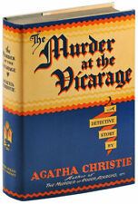 Agatha Christie-THE MURDER AT THE VICARAGE (1930)-1ST US ED-FINE/NF-MISS MARPLE