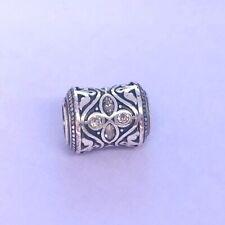 💜Brighton MUMTAZ LOVE Crystal Silver Bead Charm