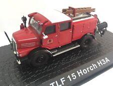 TLF 15 Horch H3A Camión bomberos fire truck 1/72 ATLAS Diecast