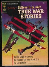 RIPLEY'S Believe It or Not ! TRUE WAR STORIES No. 1 1965 Gold Key Comic Book VG+