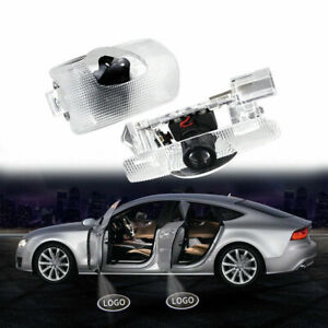 2 PCS For Toyota Door Logo Lights Projector LED 3D Shadow Ghost Light Compatible