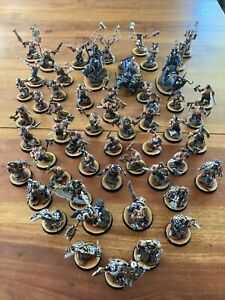 Warhammer Fantasy Age Of Sigmar Well Painted Chaos Daemons Blades Of Khorne Army