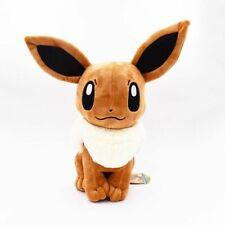 "Plush Toy 12"" 30cm Big Sitting Eevee Soft Stuffed Animals Toy Gift"