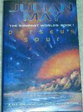 Julian May PERSEUS SPUR 1st Edn UKHC The Rampart Worlds Book One