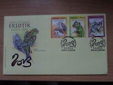 Malaysia 2013 5 Feb FDC Exotic Pets Bureau Postmark Kuala Lumpur