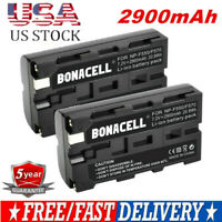 2X 2900mAh Replacement Battery for Sony NP-F550 NP-F530 NP-F570 NP-F970 Camera