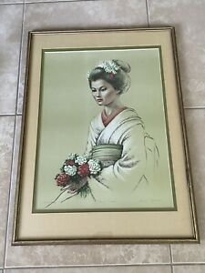 Irene Spencer Flower Prince Limited Edition Print Artist Proof COA Framed Signed