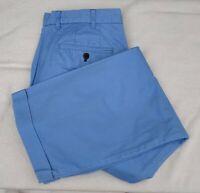 MENS CHARLES TYRWHITT CHINOS TROUSERS SIZE 34 WAIST 30 LEG SKY BLUE COTTON