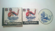 TIGER WOODS PGA TOUR GOLF SONY PLAYSTATION PS1 PSX PAL UK.