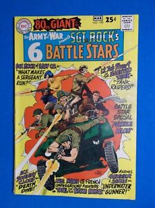OUR ARMY AT WAR # 190 - VF- 7.5 - 80 PAGE GIANT 1968 SGT ROCK