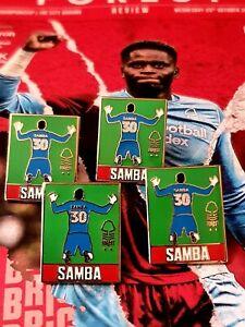 Nottingham Forest Samba Pin Badge