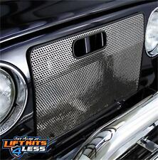 Rugged Ridge 11106.03 Polished SS Radiator Bug Shield Pair for 1997-06 Jeep (TJ)