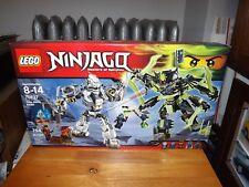 LEGO, NINJAGO, TITAN MECH BATTLE, KIT #70737, 754 PIECES, NIB, 2015