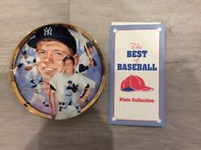 L@K Mickey Mantle Hamilton Collection Plate # 115G The Best Of Baseball