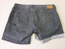 026 WOMENS EX-COND BILLABONG REG FIT CHAR WASH STRETCH DENIM SHORTS 8 $90.