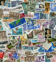 South Africa Off-paper Stamp Lot Mix - 25 grams / 400 stamps - good lot