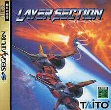 USED Layer Section Taito   SEGA SATURN JAPANESE IMPORT