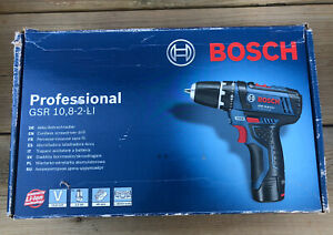 Bosch GSR 10.8-2-li - 2x 2Ah Batteries And Charger. RRP £180