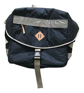 Paul Smith Jeans Mens Blue Nylon  Courier Bag 49cm x 42cm x 12cm