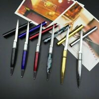 Portable Ballpoint Pen Knife Letter Opener Cutter Metal Office Outdoor Multitool