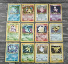 Base set 2 NM/LP Pokemon Cards near complete 64/130 12 holos Charizard Blastoise