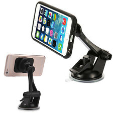 Handy Car Magnetic Windshield Dashboard Suction Mount Holder Stand for Phone GPS