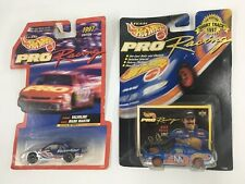 Team Hot Wheels Pro Racing Lot Of 2 1997 Cars Mark Martin #6 And Kyle Petty #44