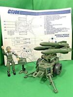 GI Joe MMS Mobile Missile Command 1982 COMPLETE with Blueprints Hawk swivel ARAH