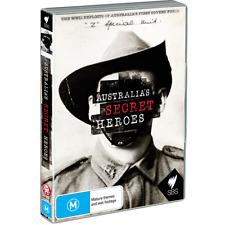 Australian Z Special Force WW2 DVD Doco Secret Heroes SBS Series