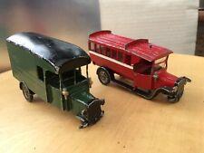 Model kits 1/48 bus and lorry built white metal Kit. Spares or repair.