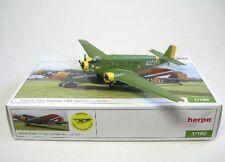 Herpa Wings 1 160 Junkers Ju-52/3m Amicale Jean Baptiste Salis Az-ju 019149