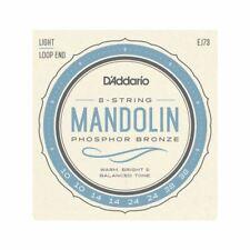 More details for mandolin strings d'addario ej73 - phosphor bronze - light - 10-38 - loop end