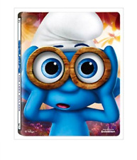 "MOVIE ""Smurfs: The Lost Village"" Blu-ray/STEEL BOOK/REGION A/(2disc: 3D+2D)"