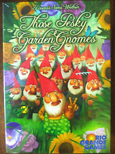 THOSE PESKY GARDEN GNOMES STRATEGY GAME BRAND NEW RIO GRANDE AGE 13+ 2012