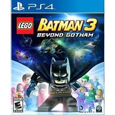 LEGO BATMAN 3: BEYOND GOTHAM (PS 4, 2014) (7406)     *****FREE SHIPPING USA*****