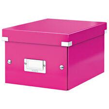 Leitz rose Click & Store Boîte de rangement WOW A5 Small