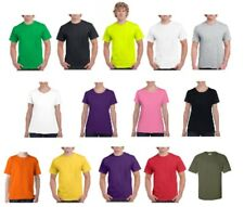 Plain 100% Cotton Blank T-shirt Gildan Mens Womens Various Colour sizes S - 2XL